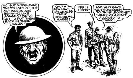 Charley's short-lived mutiny.