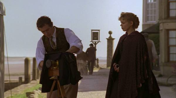 A scene shot at Sunderland Point from The Ruby In The Smoke starring Billie Piper