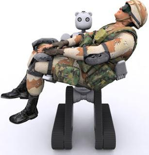 Battlefield Extraction-Assist Robot (Bear)