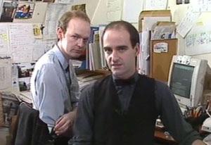 John Freeman and Nicholas Briggs - early 1990s