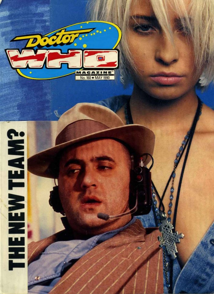 """Doctor Who Magazine Issue 160 - Alexei Sayle and Wendy James """"Dummy Cover"""""""