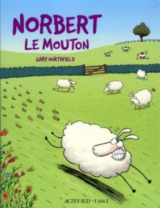 Derek the Sheep - Norbert Le Mouton French cover