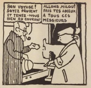 Tintin in the Land of the Soviets - Sample Panel