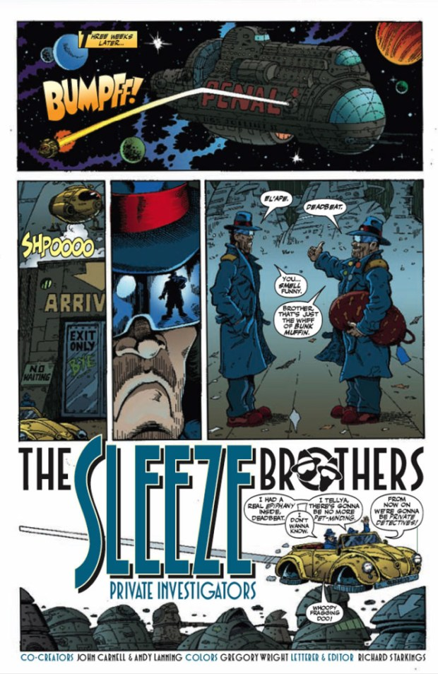 Sleeze Brothers - Sample Page