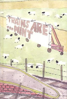 Trains are Mint by Oliver East