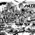 Phantom Patrol by Chris Weston -Black and White Line Art
