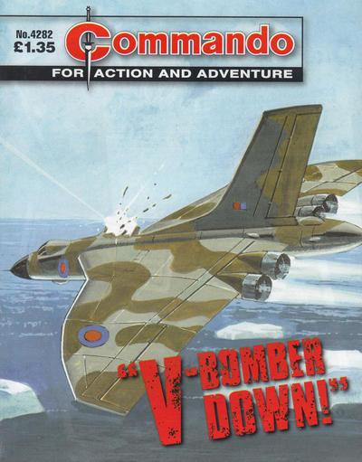 Commando 4282: 'V-Bomber Down!'