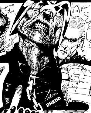 Judge Dredd by John Hicklenton