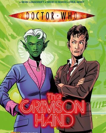 Doctor Who - The Crimson Hand Preview Cover