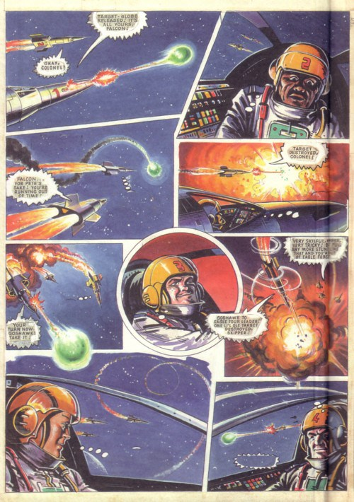 The mystery Dan Dare art – who drew it, who wrote the script and what was it for?