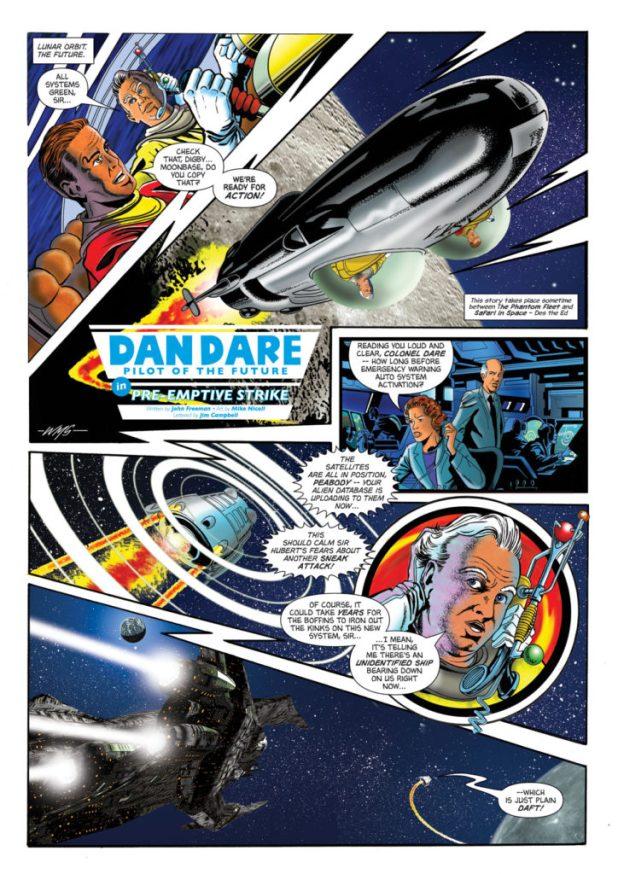 Dan Dare: Pre-Emptive Strike Page 1