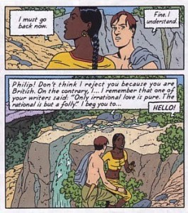 Blake & MOrtimer: The Sarcophagi of the Sixth Continent Part 1 Sample Panels