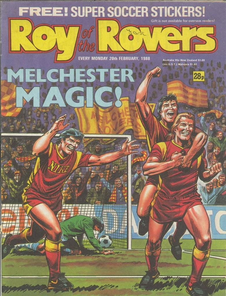 Roy of the Rovers - art by Mike White