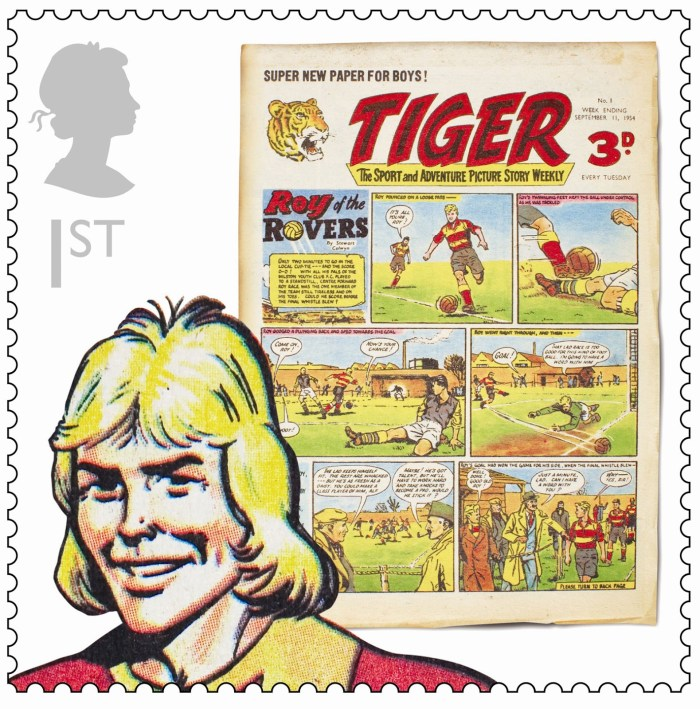 Royal Mail Comic Collection 2012 - Tiger
