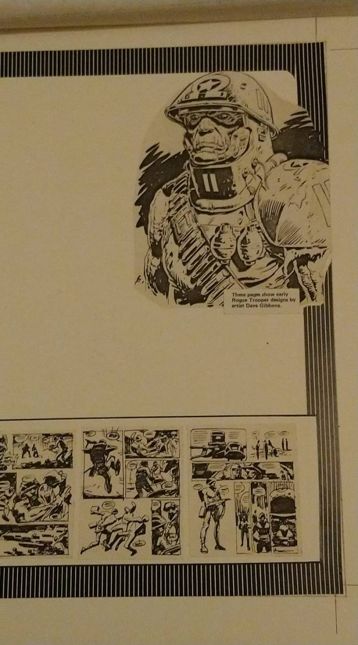 2000AD 1983 Annual - Rogue Trooper Layouts