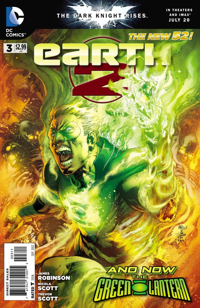 Earth Two Volume 1 #3 - Cover