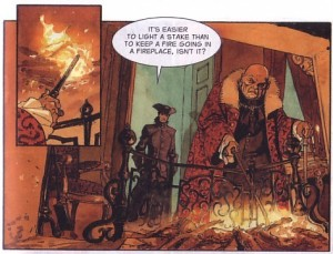 The Scorpion Volume 5 - In the Name of the Father Sample Panel