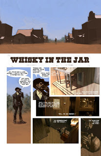 'Whisky in the Jar' by Jim Alexander, art by Gerald Parel