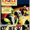 Dan Dare original front cover artwork (1964) by Keith Watson for The Eagle Vol: 15 No 52 As Digby is taken hostage Dan Dare floors the Mekon