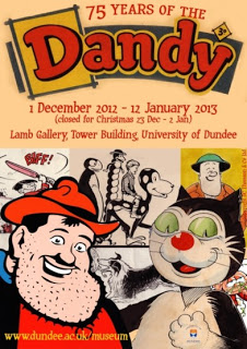 Dandy 75 Years Exhibition, Dundee 2012