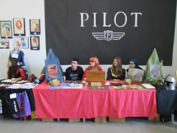 The Pilot team. Photo courtesy Malta Comic Con