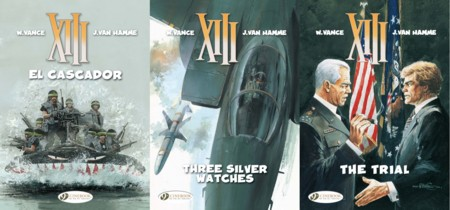 Cinebook's XIII - Volumes 10 - 12