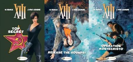 Cinebook's XIII - Volumes 13 - 15
