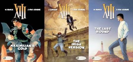 Cinebook's XIII - Volumes 16 - 18