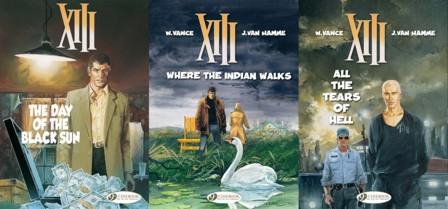 Cinebook's XIII - Volumes 1 - 3