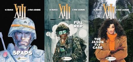 Cinebook's XIII - Volumes 4 - 6
