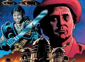 Nemesis of the Daleks - TPB Advance Cover