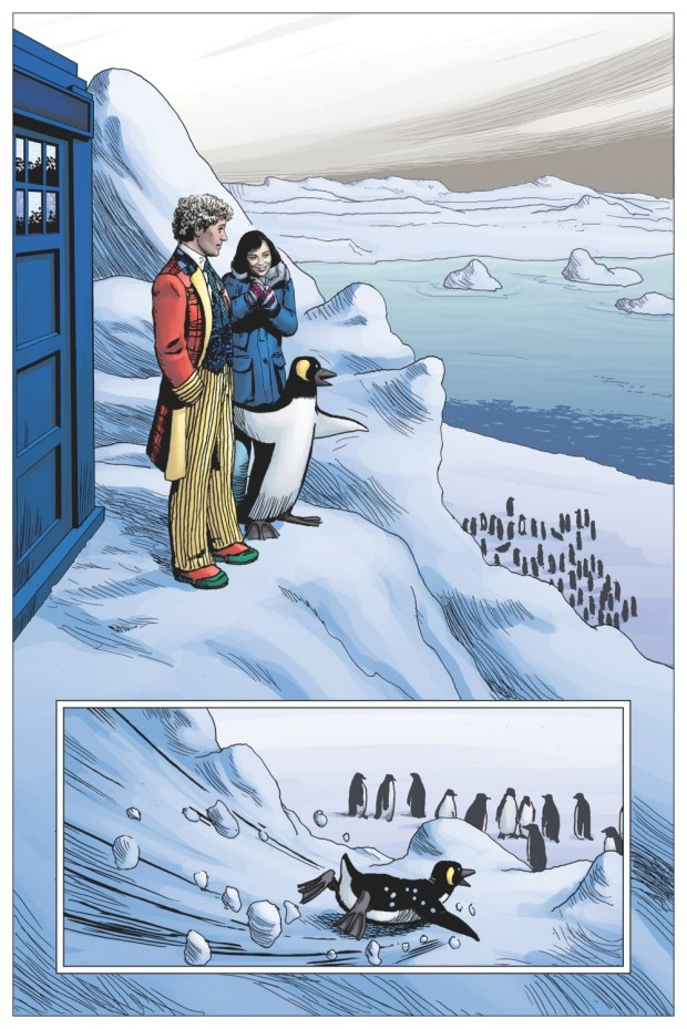 Doctor Who: Prisoners of Time #6 - Facades Page 1