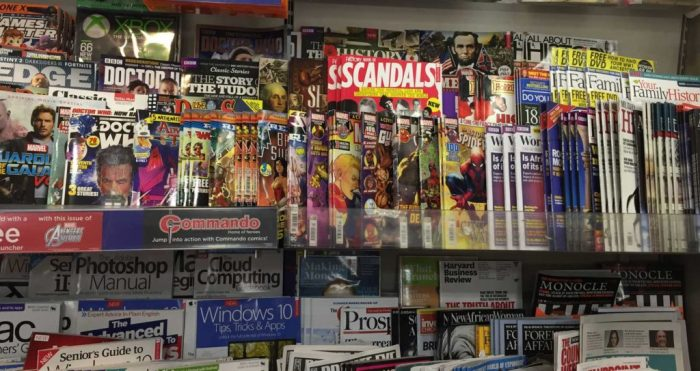 WHSmith Lancaster - 14-07-2017 Teen Comics