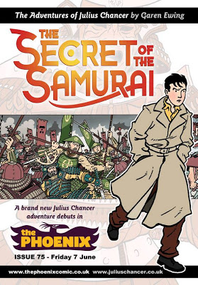 Secret of the Samurai by Garen Ewing