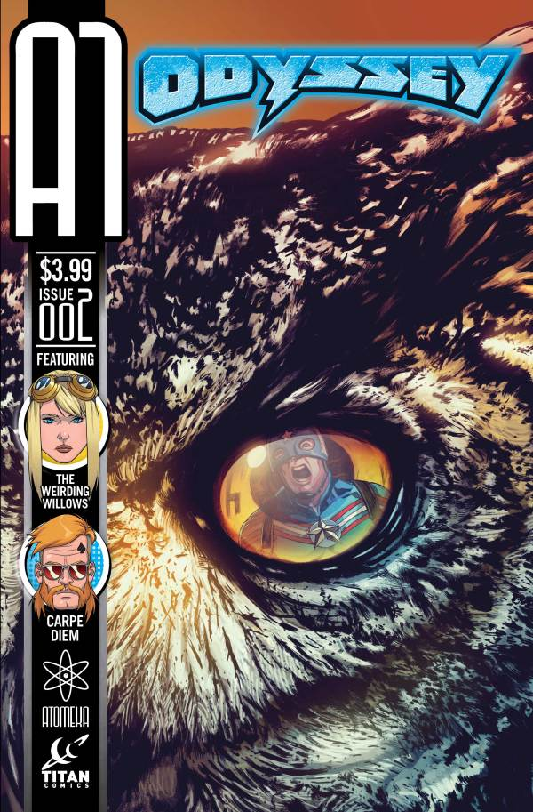 A1 Issue 2 - Odyssey Cover