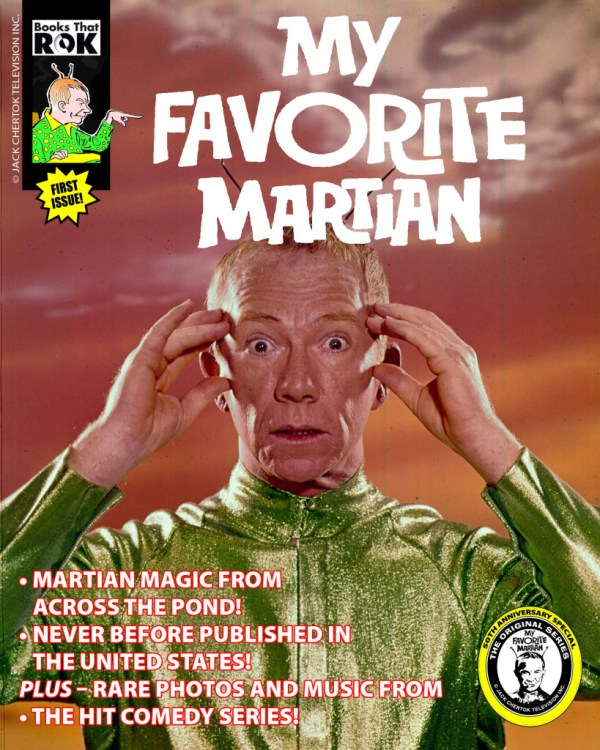 My Favorite Martian promotional cover. My Favorite Martian © Jack Chertok Television