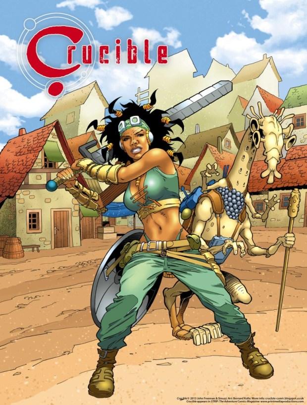Crucible: Promotional Poster by Bernard Kolle