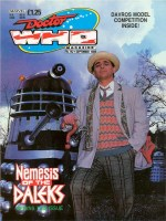 The cover of Doctor Who Magazine Issue 152