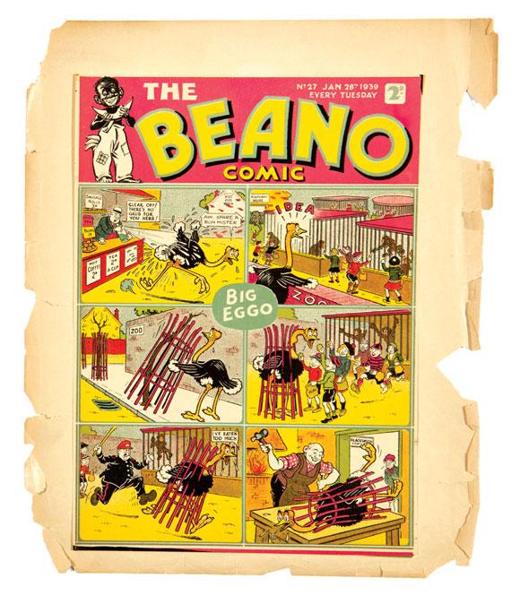Beano Printers Proof Issue 27