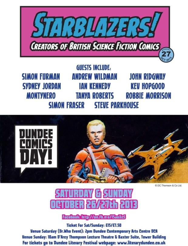 Dundee Comics Day 2013
