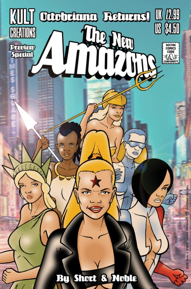 New Amazons Preview