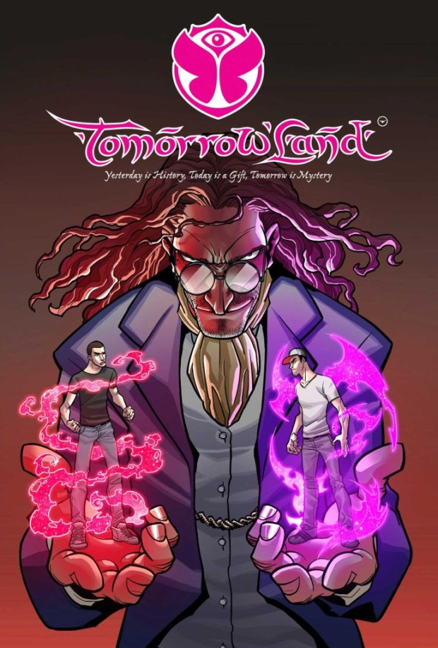 TomorrowLand 3 Cover