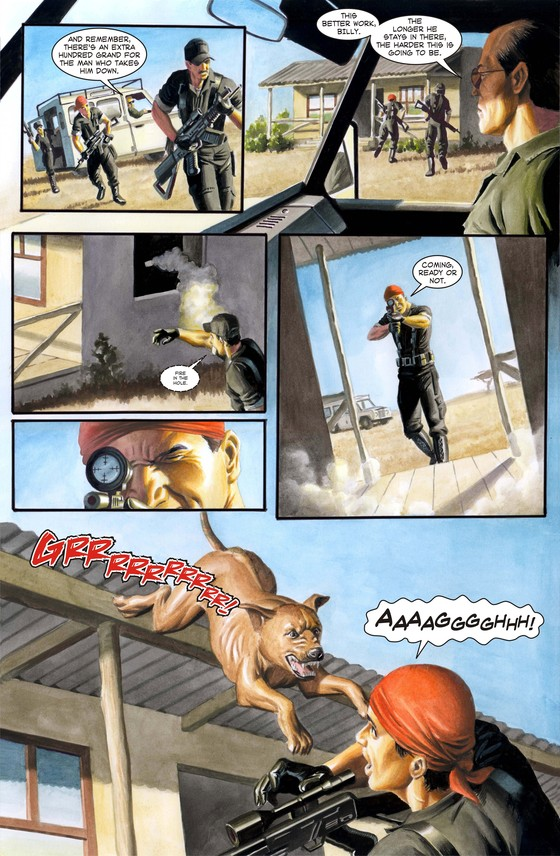 Forgotten Planet Page 5 by Peter Rogers and Giancarlo Caracuzzo