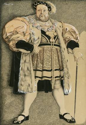 Charles Laughton as Henry VIII, 1933
