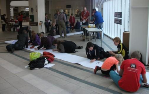 Westmorland Shopping Centre, Kendal Library, Lakes International Comic Art Festival 2013