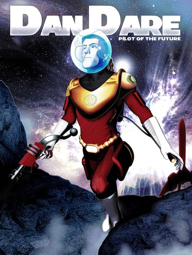 Dan Dare as re-imagined by Hal Laren
