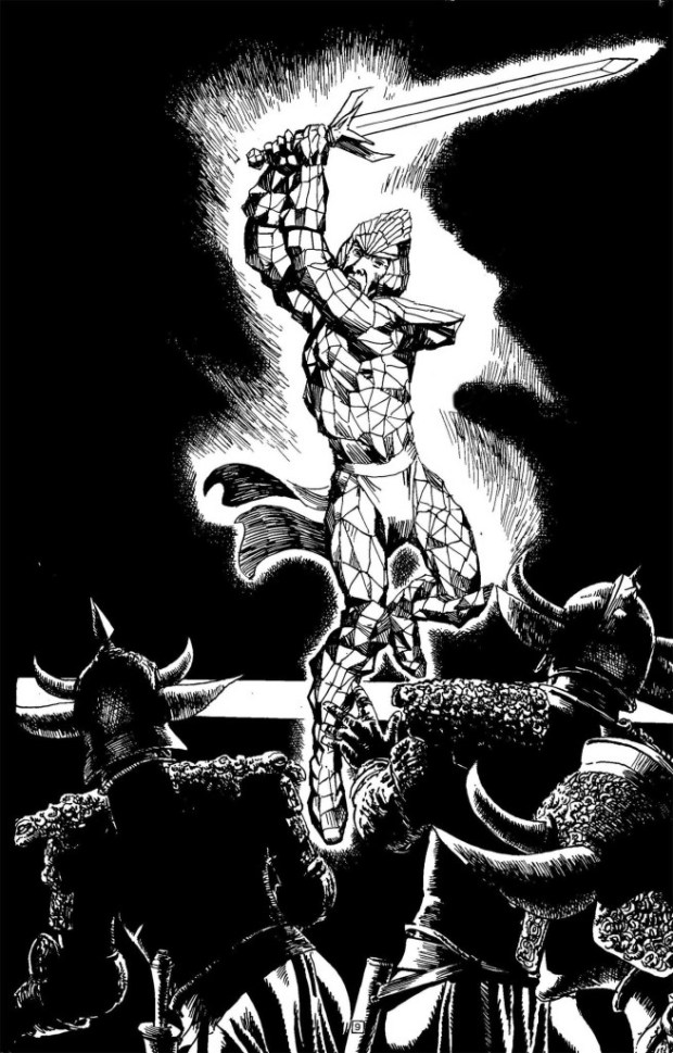 Age of Heroes: Hell's Reward Illustration by John Ridgway
