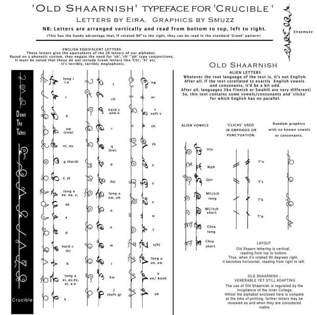 Crucible: Old Shaarnish