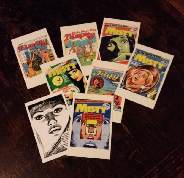 Egmont Classic Comics Girls Comic Postcards