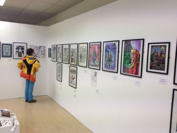 Bryan Talbot's retrospective, from his early years to the present, is at the Wildman Studios in Wildman Street, Kendal.